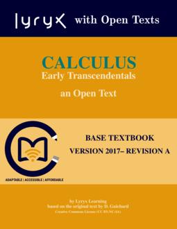 Mathematics & Statistics - Lyryx